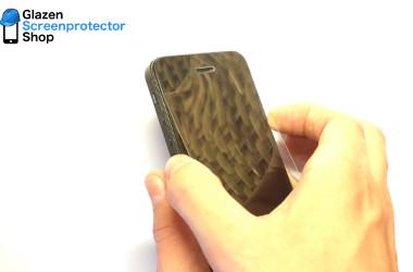 glazen screenprotector verwijderen